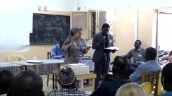 Speaking at Lutheran Church of Senegal Synod Meeting